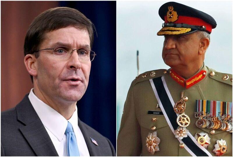 خبرنگاران مذاکره تلفنی مقامات نظامی آمریکا و پاکستان درباره افغانستان