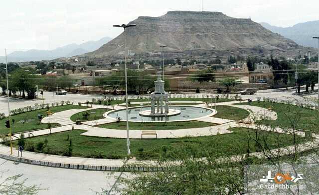 قلعه تاریخی همایون در شهر گراش استان فارس، عکس