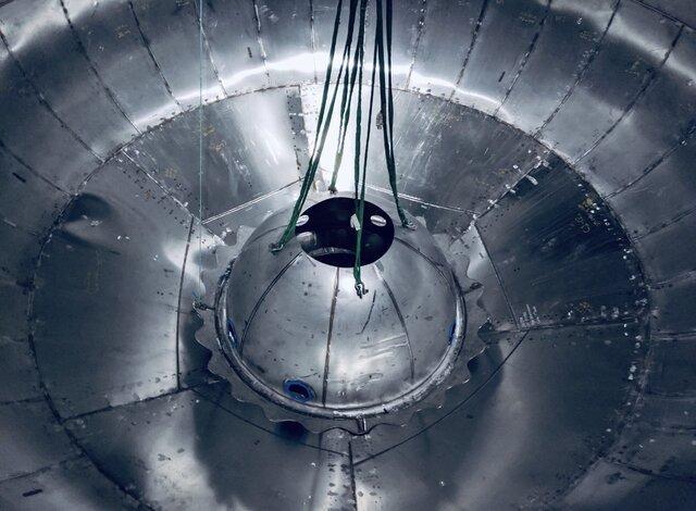 ایلان ماسک تصویر مخزن سوخت موشک استارشیپ را منتشر کرد