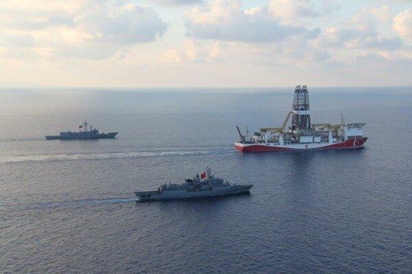 ترکیه به اتهام تنش زایی در منطقه مدیترانه واکنش نشان داد